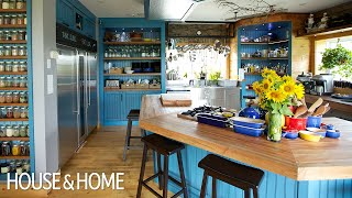 A Colorful And Super-Functional Chefs Kitchen