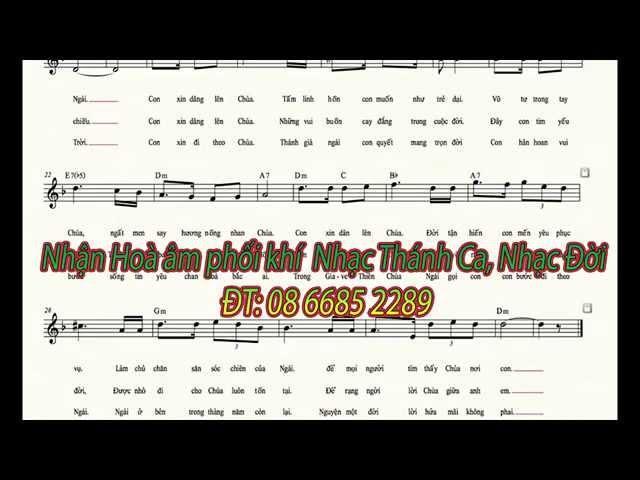 Nhận hoà âm phối khí Nhạc Thánh Ca - nhạc đời- ĐT: 08 6685 2289 - nhạc playback - nhạc beat giá rẻ