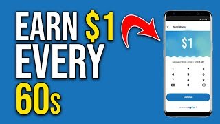 Get Paid $1 in 60 SECONDS (NEW PayPal App FREE!)