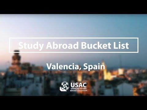 Valencia Bucket List