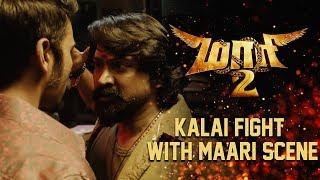 Maari 2 - Kalai Fight With Maari Scene   Dhanush   Sai Pallavi   Krishna   Tovino Thomas