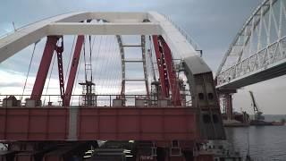 Подъем автодорожной арки Керченского моста вот-вот начнется