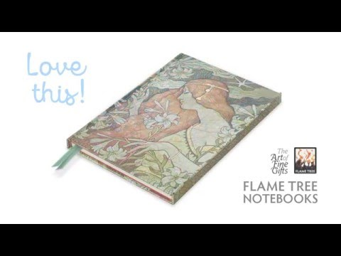 Flame Tree Notebooks. Beautiful and practical. Do you love your notebook?