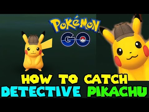 HOW TO CATCH DETECTIVE HAT PIKACHU IN POKEMON GO