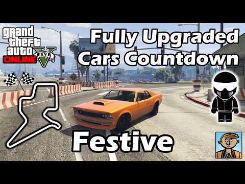 Fastest Festive Surprise 2015 DLC Vehicles - Best Fully Upgraded Cars In GTA Online