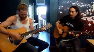 Alcest Live Acoustic performance @ Vacation Vinyl, Los Angeles, CA 10/3/13