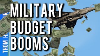 Military Gets Billions For Wars Americans Don't Want To Fight!