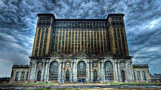 Самые Большие Заброшенные Вокзалы США и Брошенная  Электростанция