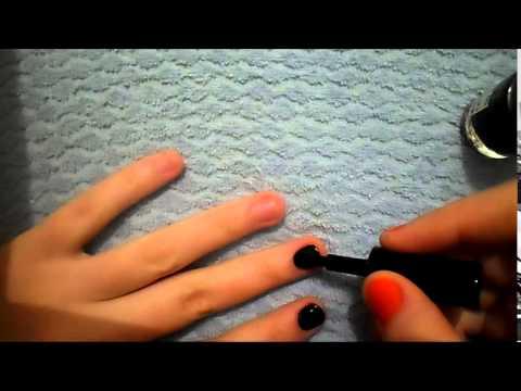 маникюр как правильно красить ногти короткие