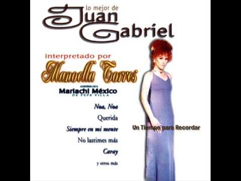 Siempre en mi Mente-Manoella Torres interpreta a Juan Gabriel