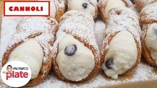 ITALIAN CANNOLI RECIPE   How To Make Sicilian Cannoli Shells And Cream