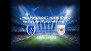 R.F.F.M. - Jornada 11 - Preferente Infantil (Grupo 2): Juventud Sanse 2-2 C.D. Valdetorres.