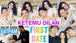 Video KETEMU DILAN (IQBAAL) - Salim sama Satpam di Mall - Recreating Our First Date - DARE OR DARE MP3, 3GP, MP4, WEBM, AVI, FLV September 2019