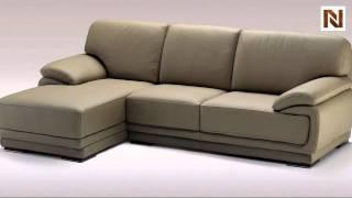 Geneve Italian Leather Sectional Sofa VGDIGENEVE