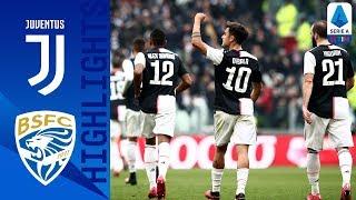 Juventus 2-0 Brescia | Dybala and Cuadrado Score to Beat Brescia as CR7 Rested | Serie A TIM