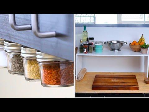 Easy Kitchen Organization Upgrades