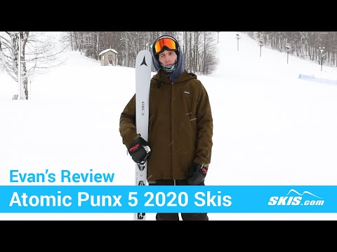 Video: Atomic Punx 5 Skis 2020 3 35