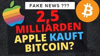 Apple, um Bitcoin Juli 2021 zu erwerben
