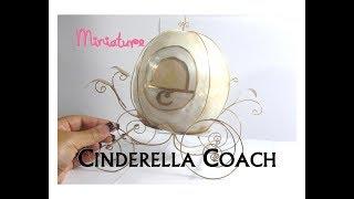 Cinderella Coach Or Carriage Dollhouse Miniature Furniture Collab