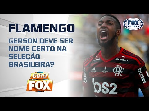 VAPO! Gerson, do Flamengo, deve ser nome certo na Seleção Brasileira? Veja e palpite