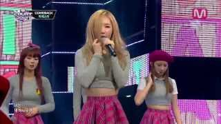 피에스타_아무 것도 몰라요 (I Don't Know by FIESTAR of Mcountdown 2013.11.07)