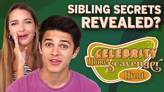Brent Rivera & Lexi Rivera Reveal Sibling Secrets | Celebrity Home Scavenger Hunt | PeopleTV