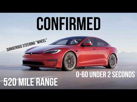 "The ""NEW"" 2021 Tesla Model S Is Faster, Goes Further, And Is MORE DANGEROUS Than Ever!"
