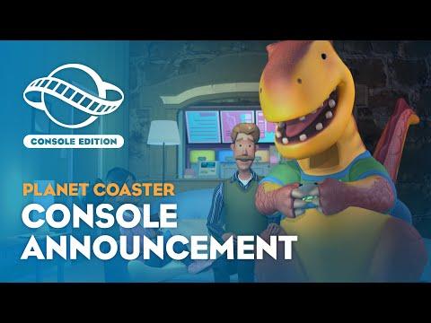 Annonce consoles de Planet Coaster