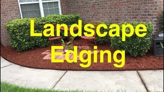 How To Install COL-MET Metal Landscape Edging - STOP Losing Mulch!