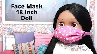 Make A Face Mask For 18 Inch Doll