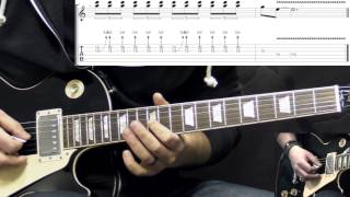 Gary Moore - Walking By Myself - Solo - Blues Guitar Lesson (w/Tabs)