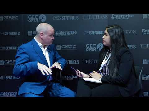 Jon Kane – EMEA Channel Director, Carbon Black at GISEC 2018