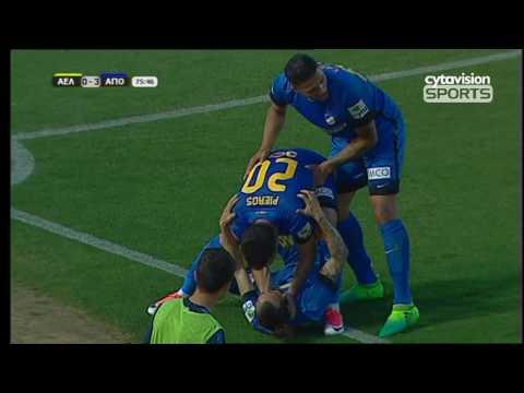 VIDEO: ΑΕΛ 1-4 ΑΠΟΕΛ, Φάσεις και γκολ