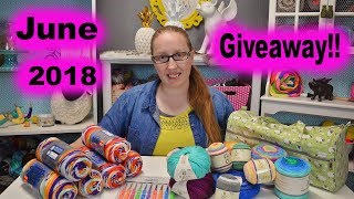 June 2018 Giveaway!!! ***CLOSED***
