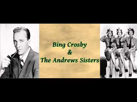 Santa Claus Is Coming To Town - Bing Crosby & The Andrews Sisters