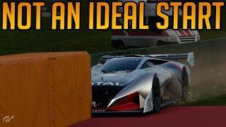 Gran Turismo Sport: Not An Ideal Start To a Race