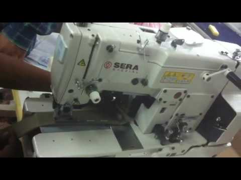 Button Hole Sewing Machine