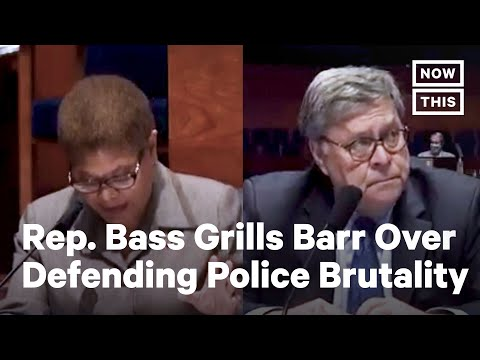 Rep. Bass Grills AG Barr on Zero Tolerance and Police Brutality | NowThis