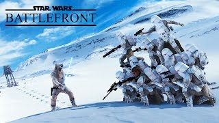 Star Wars Battlefront - Random Moments #7 (Scary Moments!)