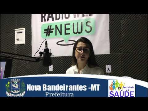 Enfermeira Eliza Machado fala sobre a Campanha da Secretaria de Saúde sobre as HEPATITES VIRAIS (B,C).