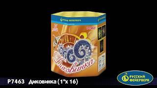 """Диковинка"" Р7463 салют 16 залпов 1"" от компании Интернет-магазин SalutMARI - видео"
