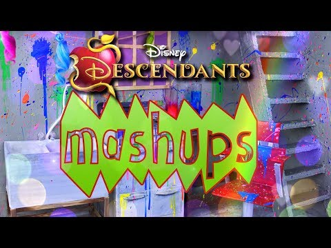 Mash Ups:  ULTIMATE Disney Descendants Crafts | Dizzy | Uma | Dollhouses & more