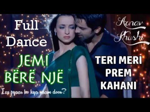 Download Arnav And Khushi - Full Dance Teri Meri Prem Kahani Albanian Lyrics | Iss Pyaar Ko Kya Naam Doon? HD Mp4 3GP Video and MP3