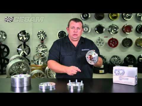Separadores de aluminio para llantas