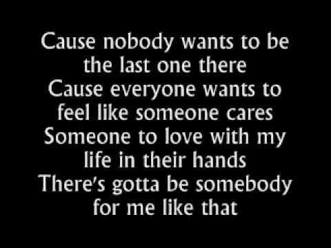 Nickelback   Gotta Be Somebody Lyrics)