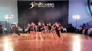 Formacja Latino Solo MIlhausen Dance Center