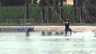 preview picture of video 'Riders da Bologna al Padova City Night Vol.2 - CAblù Wakepark'