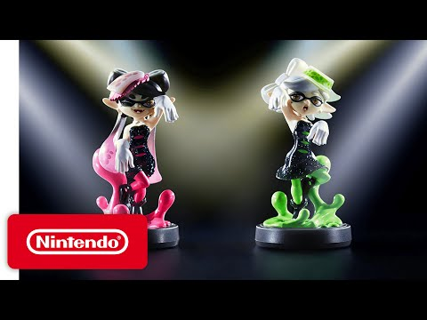 Видео № 0 из игры Amiibo Кэлли (Splatoon)