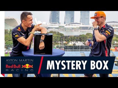 Alex Albon and Max Verstappen's Mystery Box Challenge