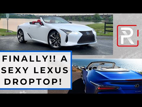 The 2021 LC 500 Convertible is The First-Ever Sexy Droptop from Lexus
